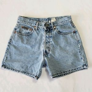 CK Calvin Klein Shorts Blue Size 7 Made in USA